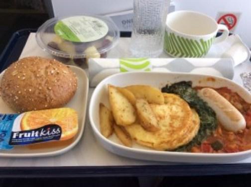 Finnair, Business Class, Copenhagen to Helsinki