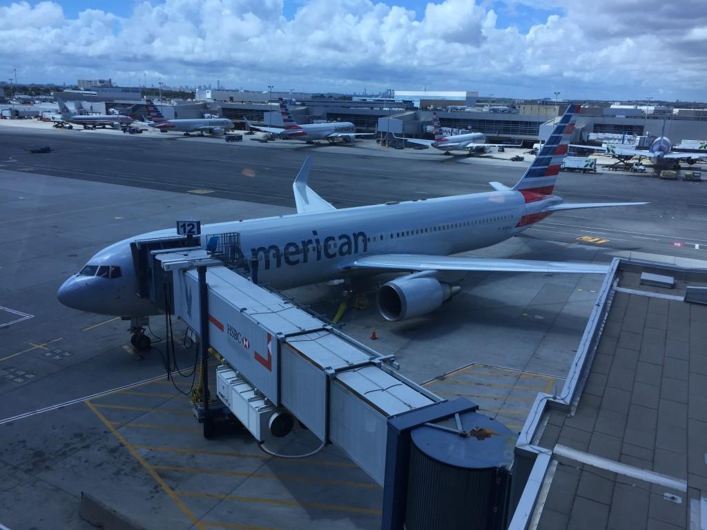 American at JFK