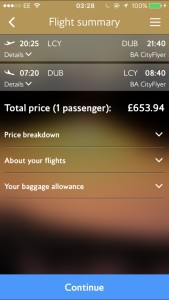 Flights prices