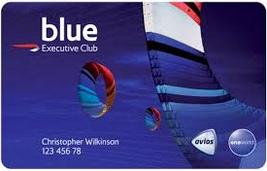 BA blue