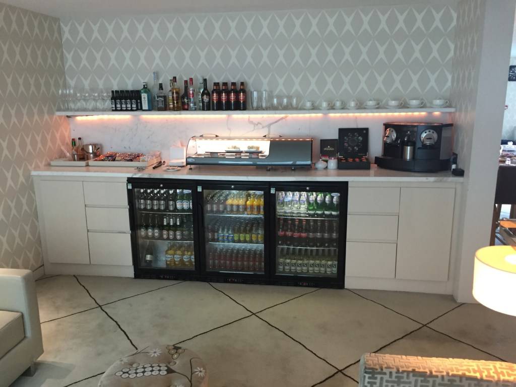 LCY First Class Lounge