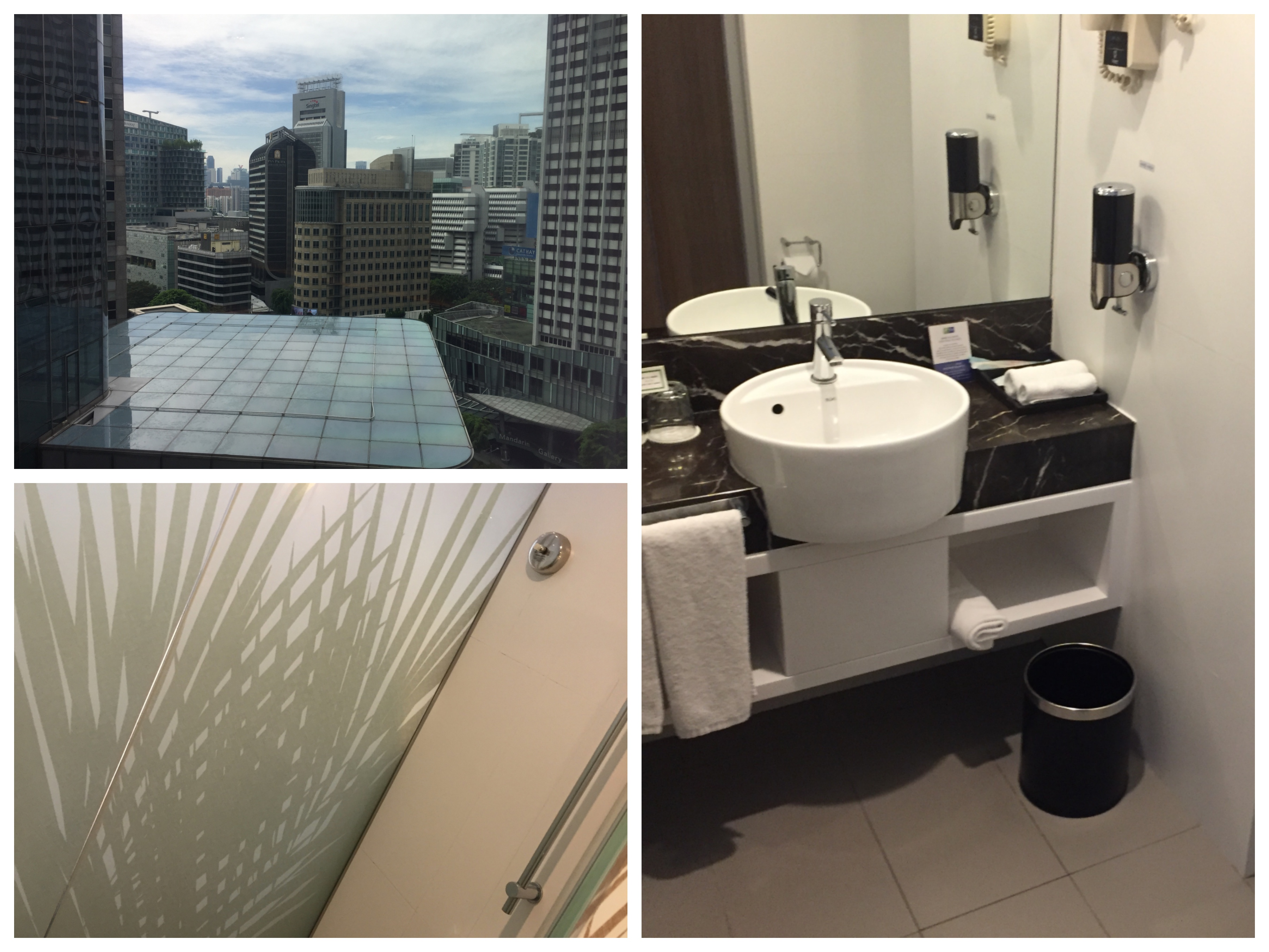 Bathroom Stall Em Portugues review: holiday inn express, orchard road, singapore - miles from