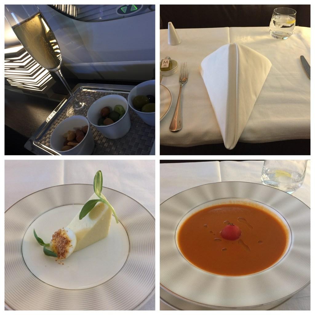 Etihad A380 Food 1