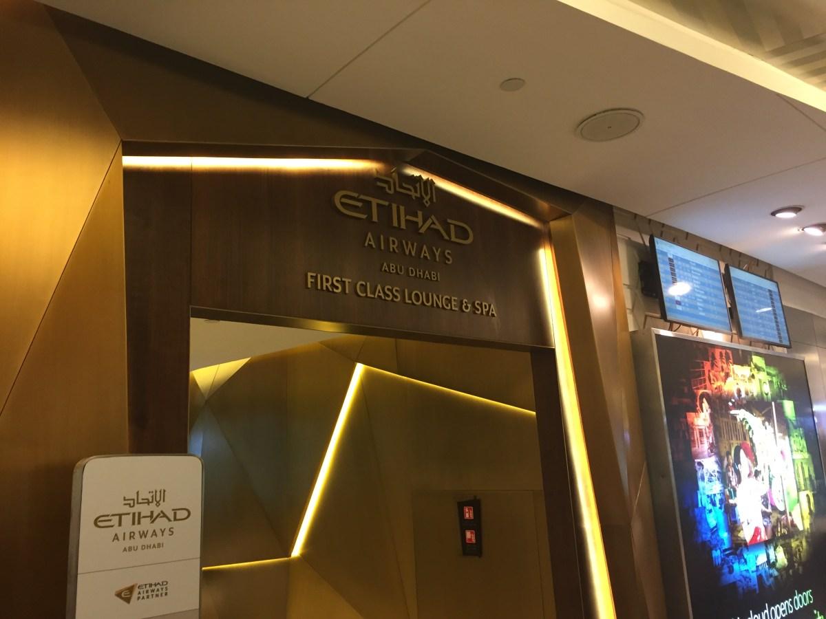 Etihad First Class Lounge, Abu Dhabi