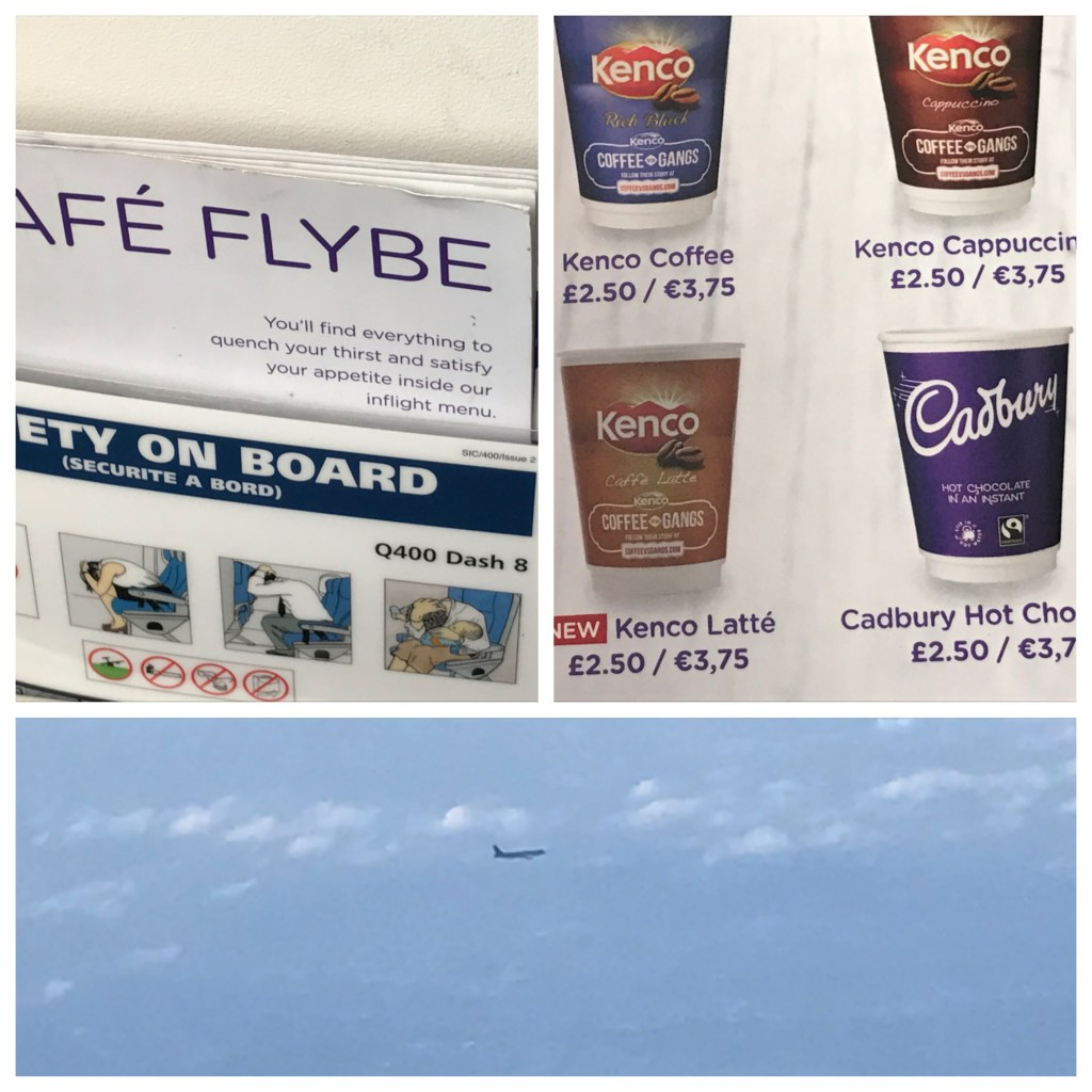 Flybe catering