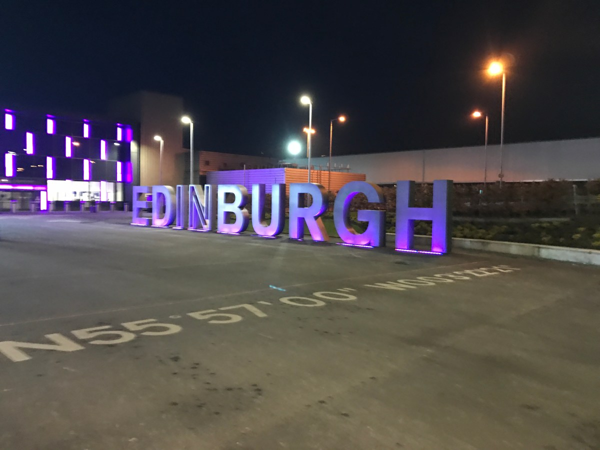 A tale of two airlines - BA and Flybe - London -  Edinburgh