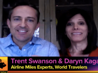 """The List"" TV show features MilesHusband Trent Swanson and MilesWife Daryn Kagan as they talk about their extreme frequent flyer miles hobby."