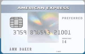 Amex EveryDay Preferred Credit Card for earning Membership Rewards.