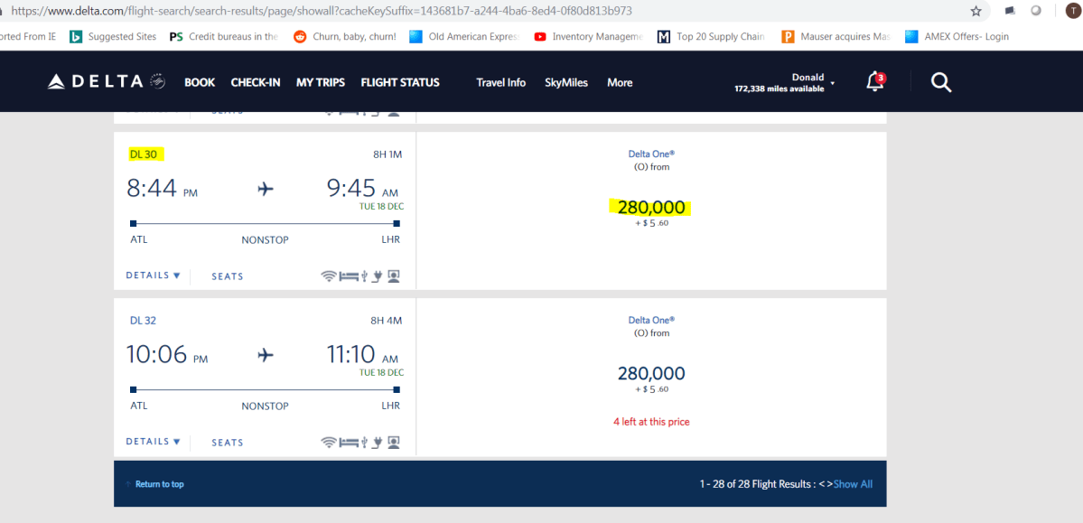 Great Delta Airlines Hack When You Want To Use Miles & Points