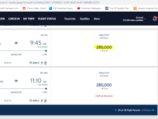 Great hack for using frequent flyer miles and points to fly Delta Airlines