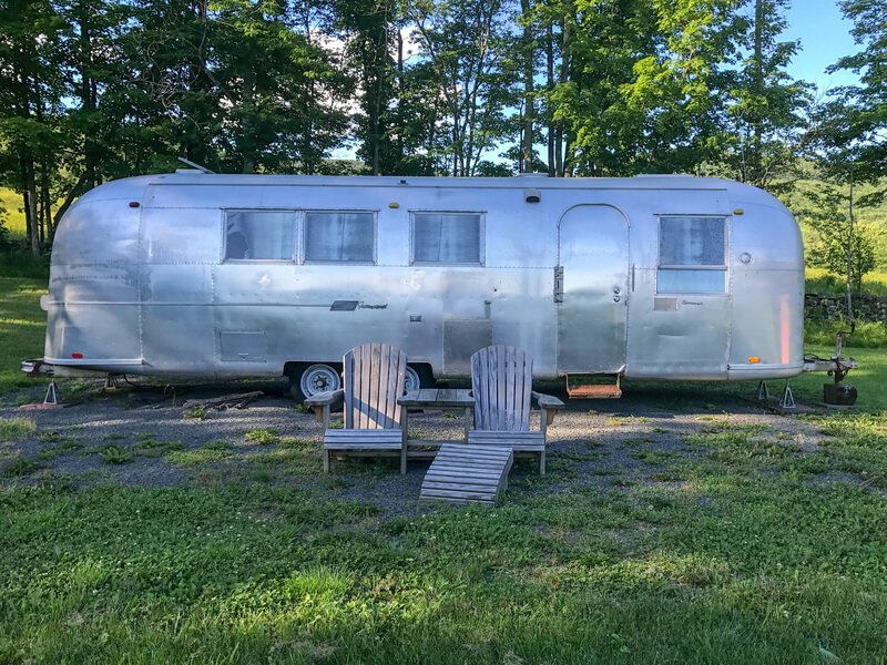 Airstream trailer in Hudson Valley New York State