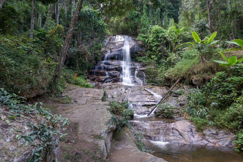 Waterfall at Doi Suthep-Pui National Park