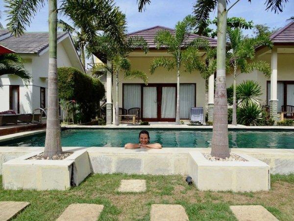 Two week indonesia Itinerary Pool Villa Lombok
