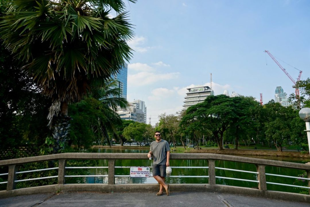 What is Bangkok like? A beautiful park right in the middle of the city.