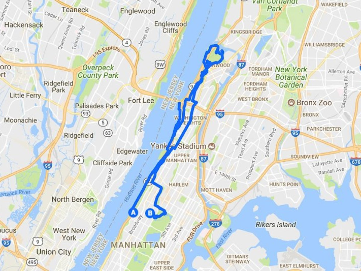 Verwonderlijk Running in Manhattan | A 20 Mile Training Run for the NYC Marathon TP-49