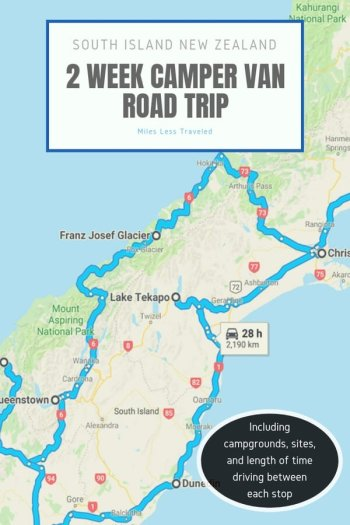 Road Map Of New Zealand South Island.New Zealand Road Trip Itinerary Discover The South Island