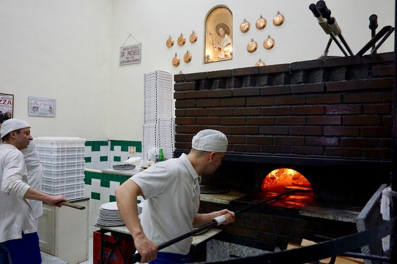 Best Pizza in Naples Italy Brick Oven Da Michele pizza
