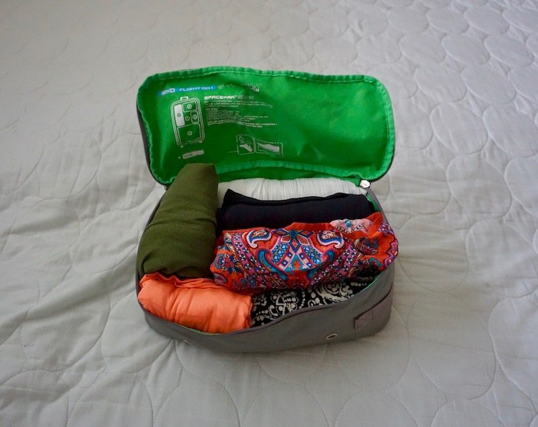 Essential Travel Items Packing Cubes