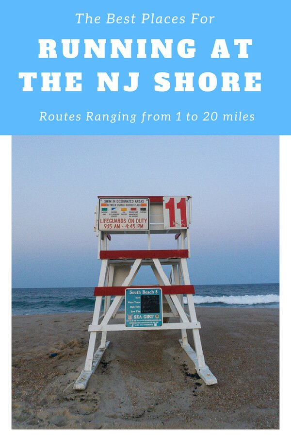 The Best Places for Running at the NJ Shore
