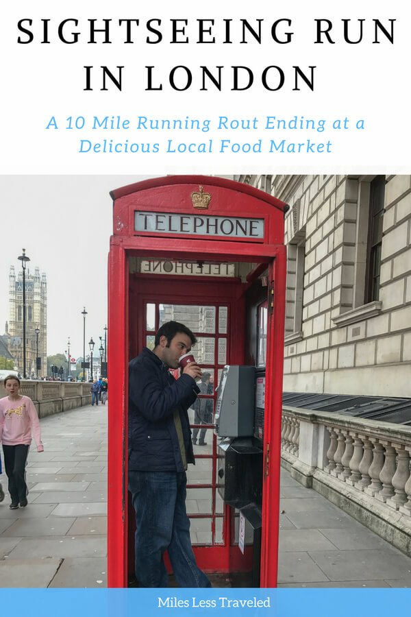 Sightseeing Run in London