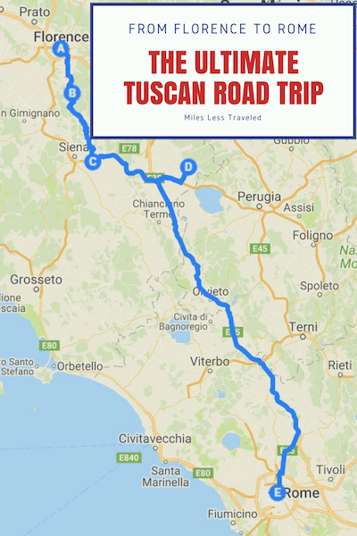 Detailed Map Of Tuscany Italy.Tuscany Road Trip Itinerary 7 Days In The Beautiful Italian