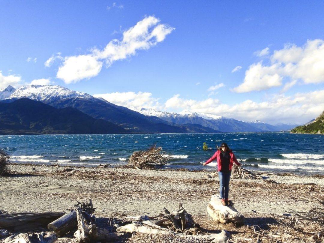 Lake view, New Zealand