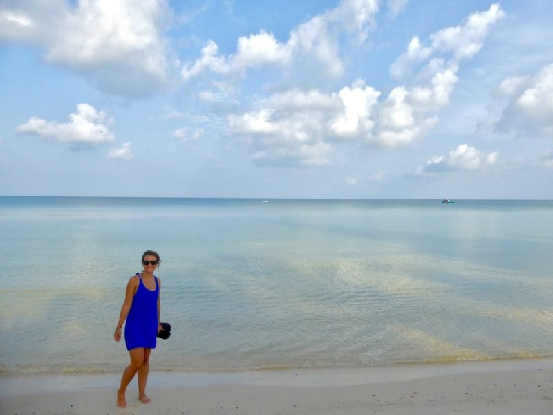 Alicia on Phu Quoc Water