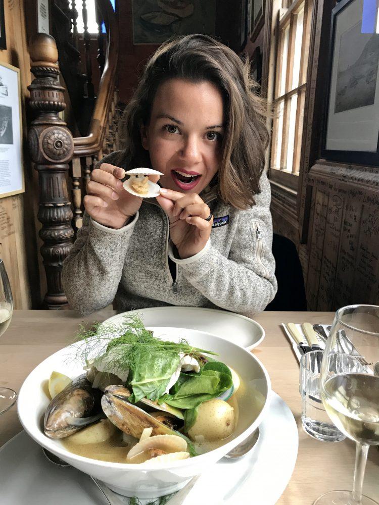 Seafood pot appetizer