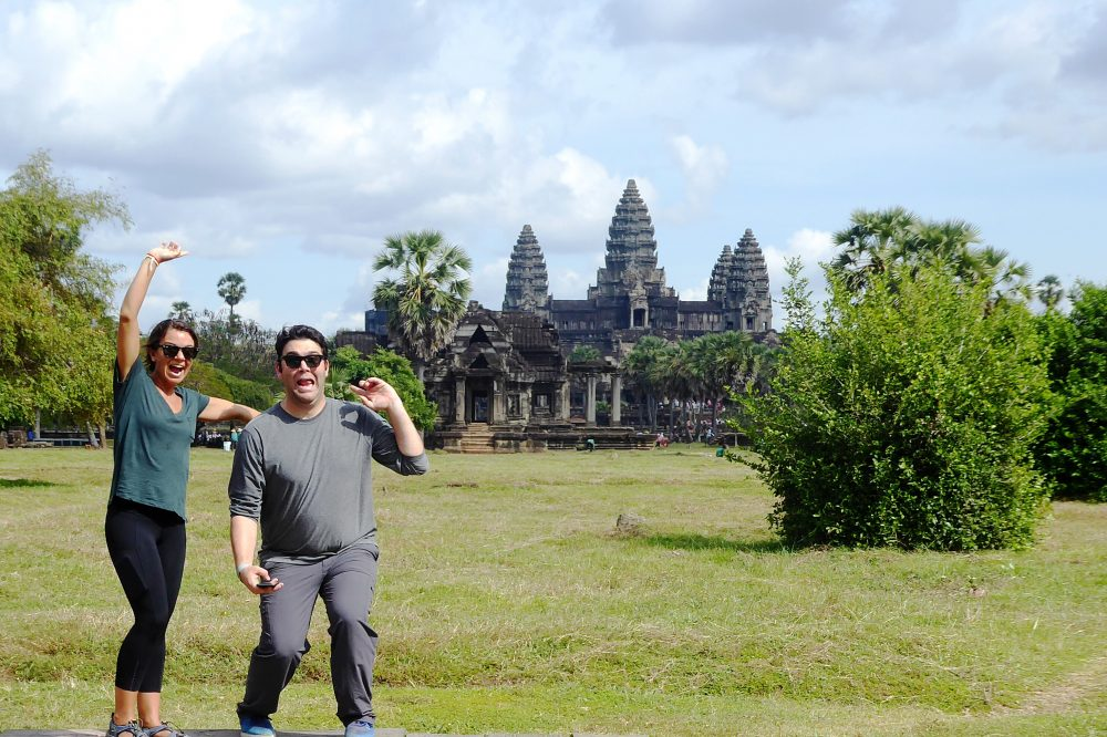 Running the Angkor Wat International Half-Marathon in Cambodia