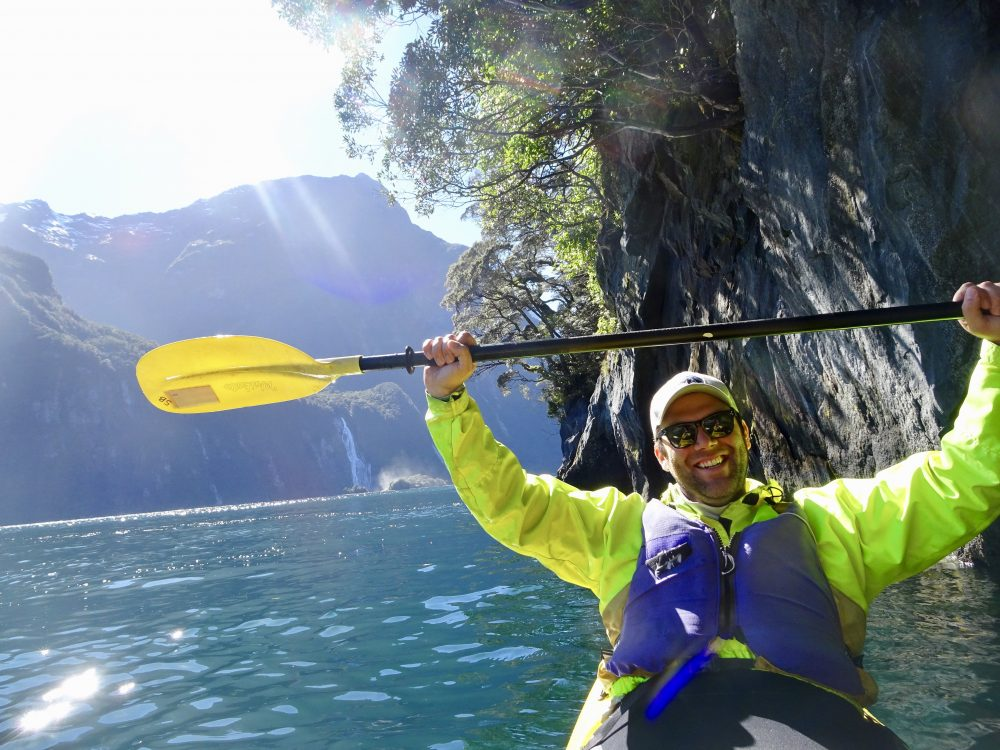 Kayaking the 8th Natural Wonder of the World: The Milford Sound