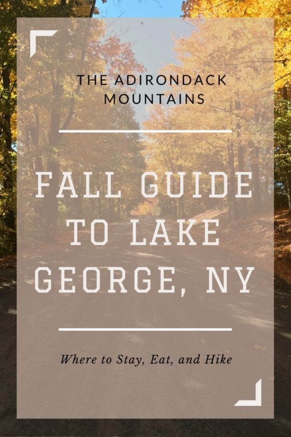 Guide to Lake George New York