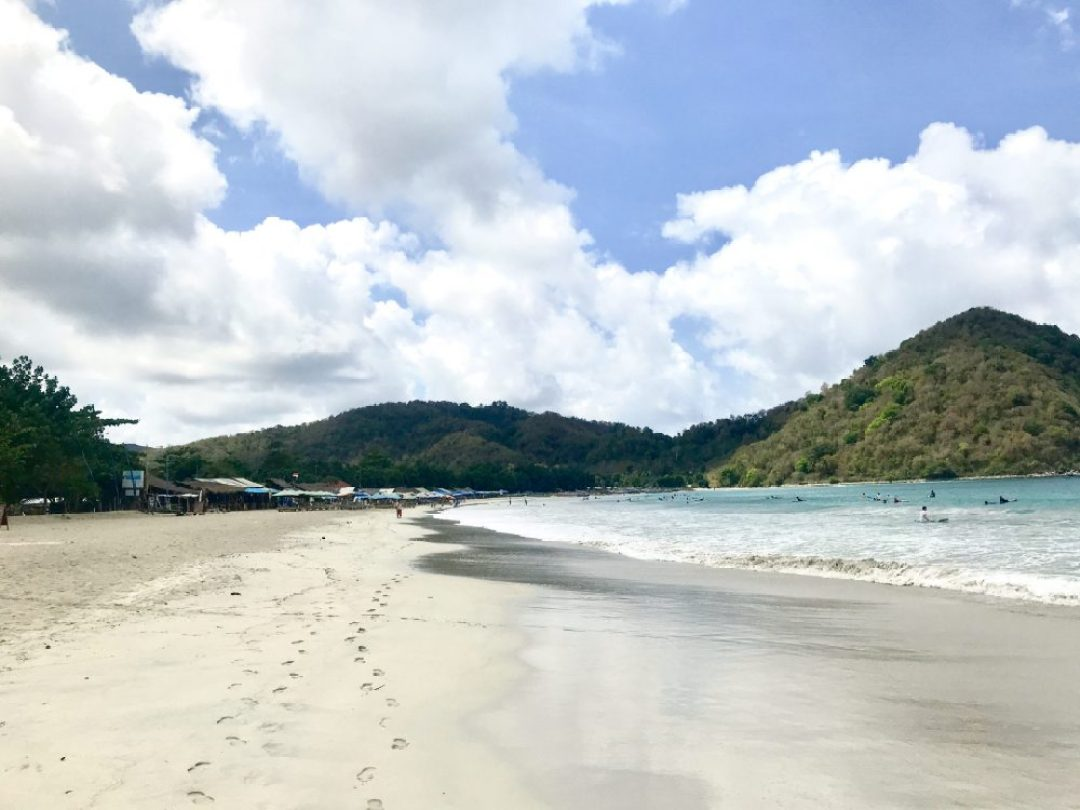 Selong Belanak on a perfect day in Lombok
