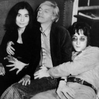 Yoko was only there 'cause Andy paid to fulfill a fantasy of a 3-way and being the center of attention!