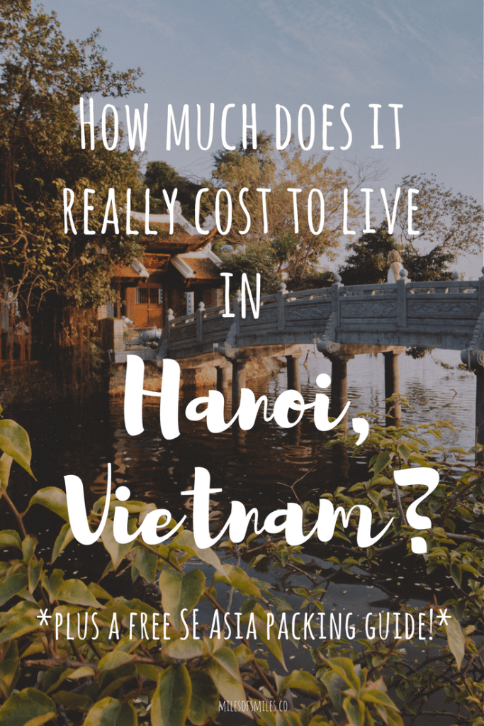 How Much Does It Really Cost To Live In Hanoi?