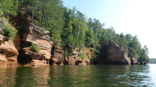 Lake Superior Sea Caves
