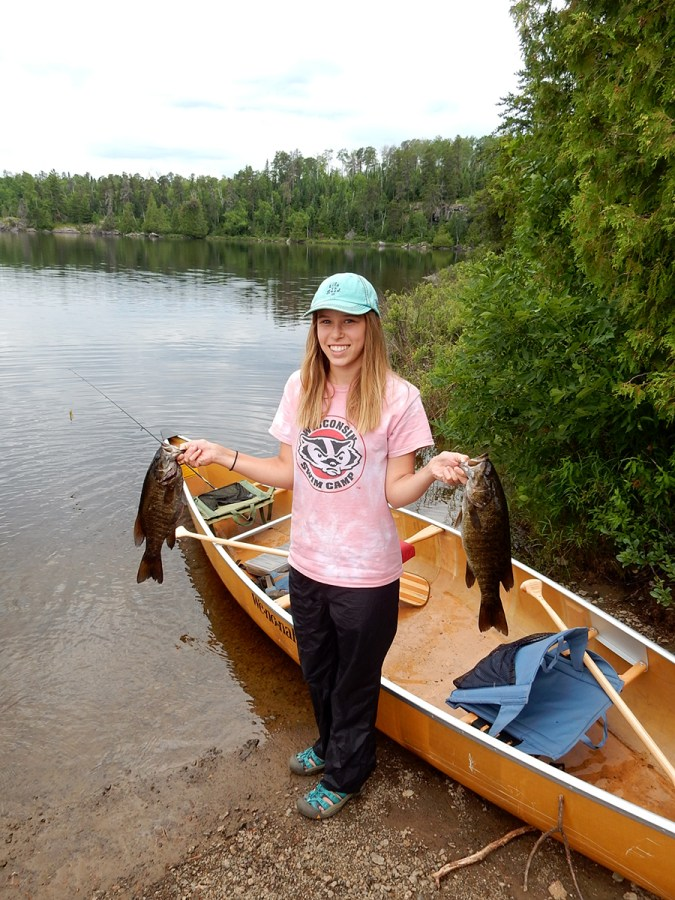 Fisherwoman du jour.