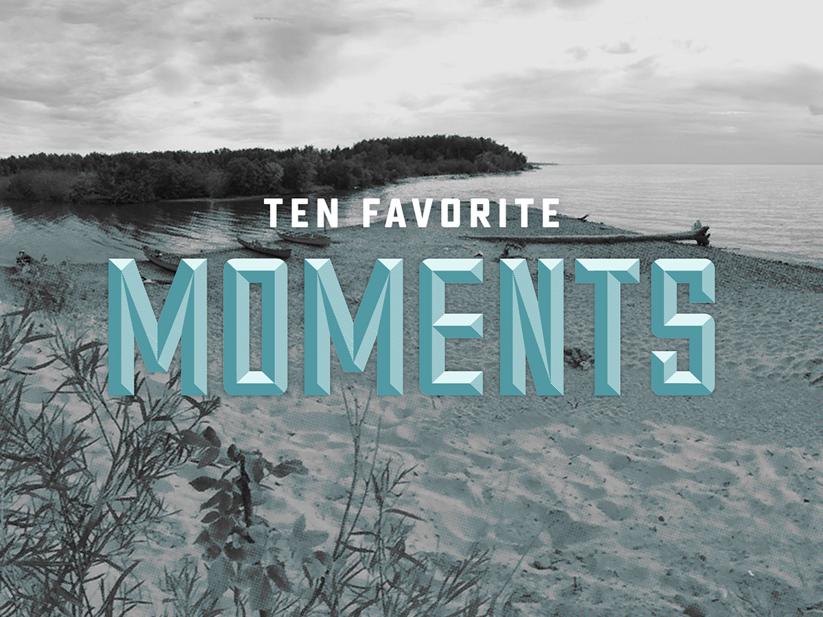 10 Favorite Miles Paddled Moments