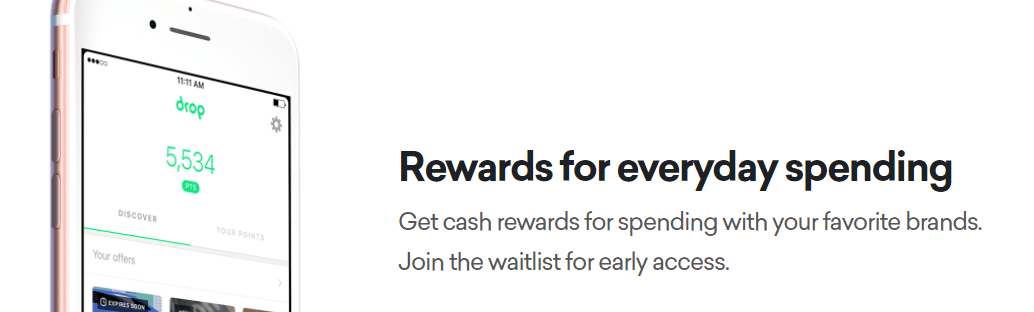 Uh sign up for Drop before it dies like Chime and Dosh - Miles per Day