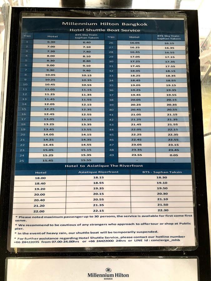 Review - Hilton Millennium Bangkok Thailand - Miles per Day
