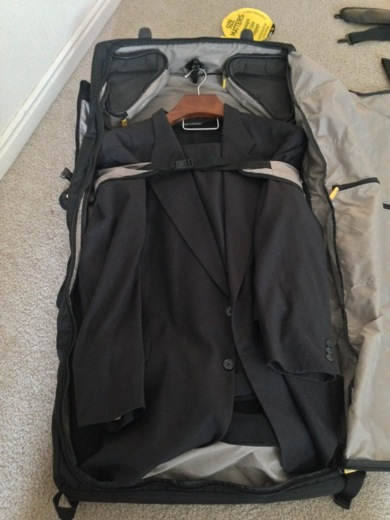 1 suit in the Gate8 bag