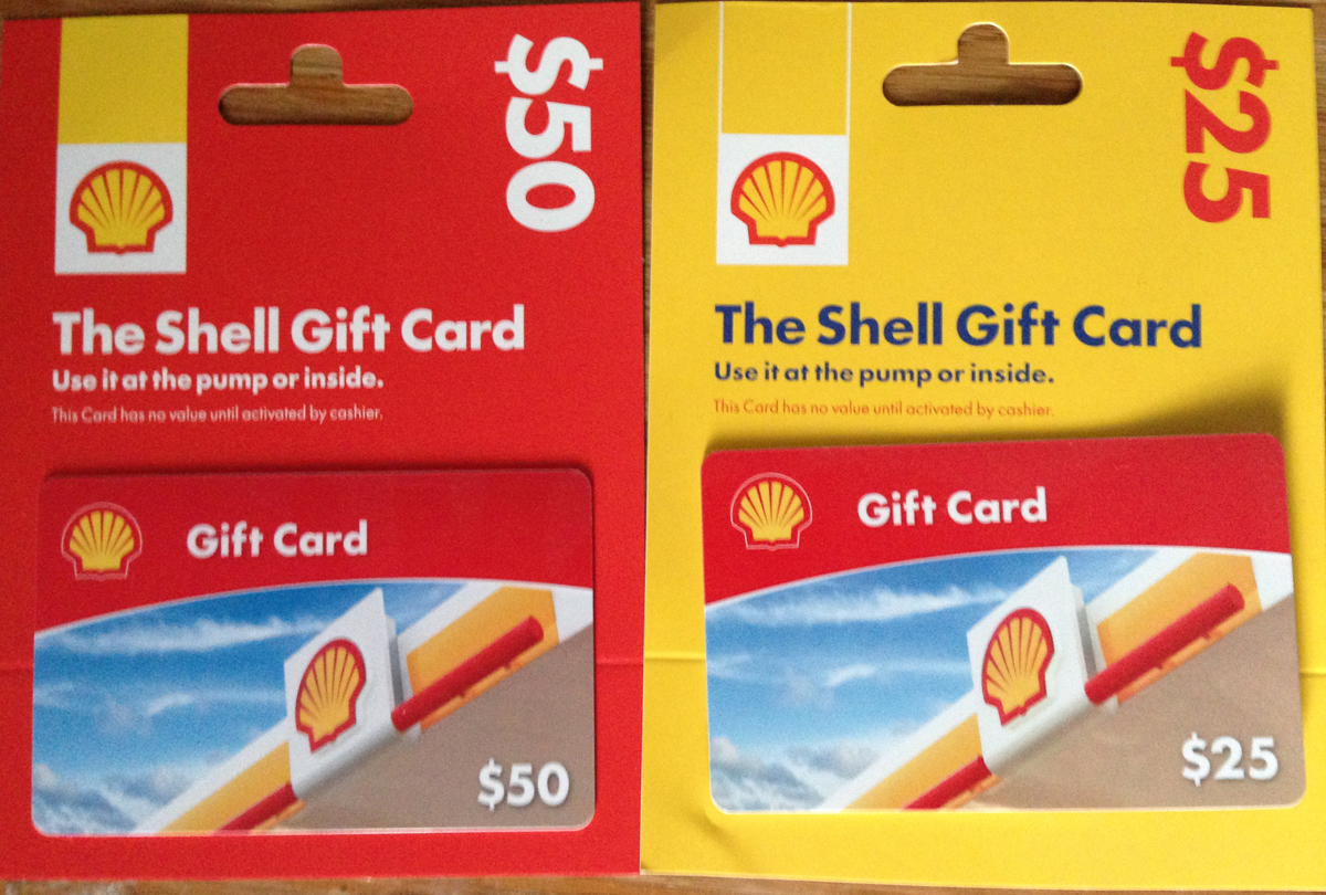 $75 of Shell Gas Cards