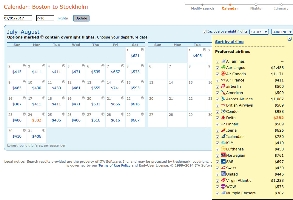 how to search oneworld airlines matrix itasoftware