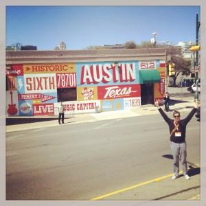 Austin has a groove