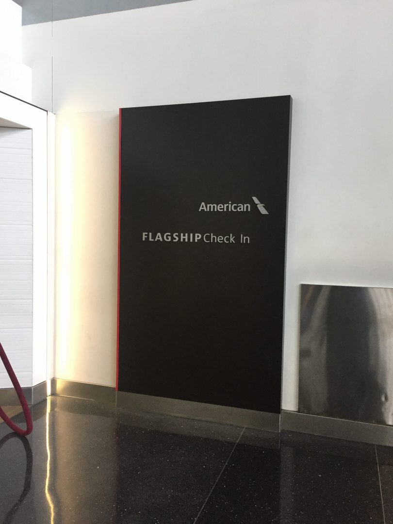 AA Flagship First Check-in - JFK