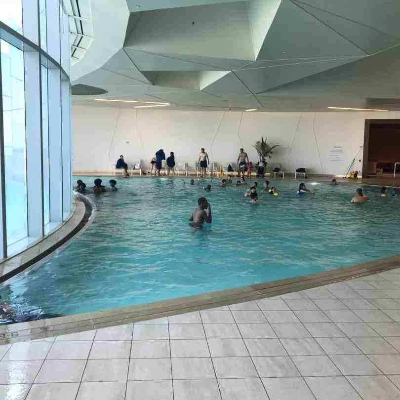Indoor Pool at Ocean AC