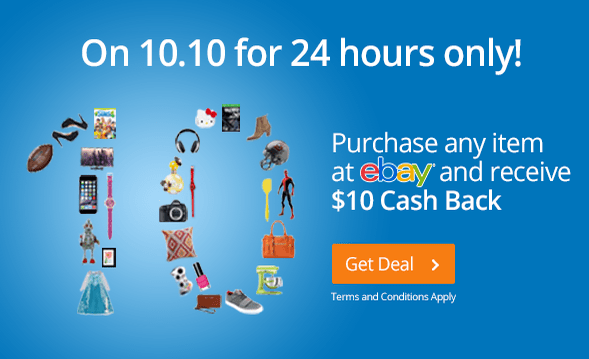 Cashback ebay purchases