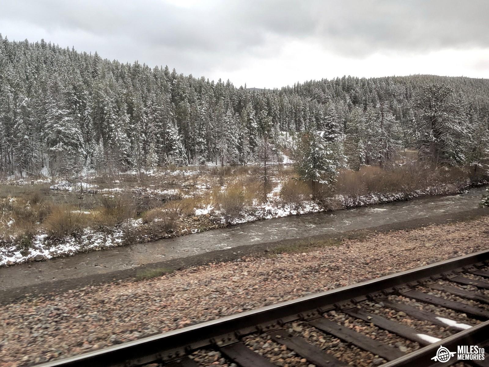 Amtrak California Zephyr Delays Rocky Mountains