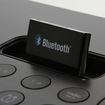Bluetooth sound dock adapter (Image Source: thinkgeek.com)