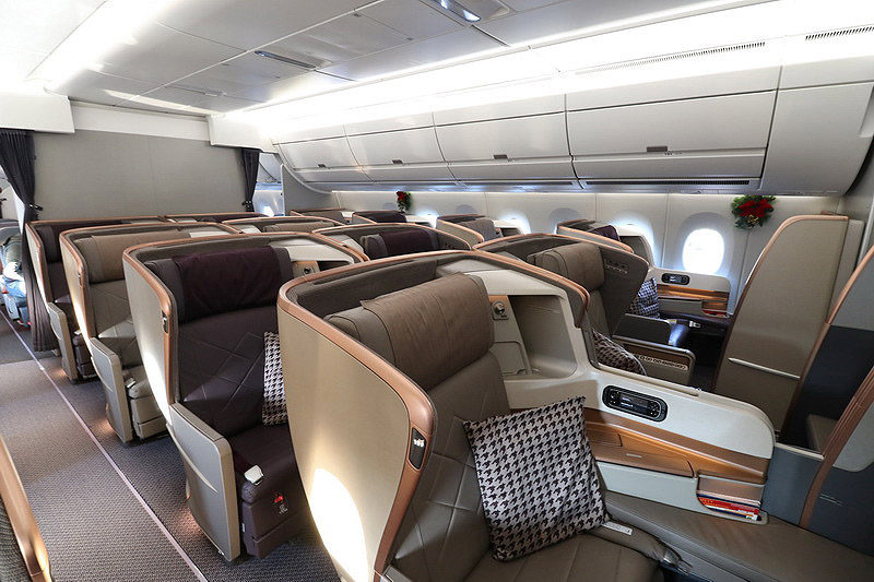 Singapore-Airlines-Business-Class-Cabin