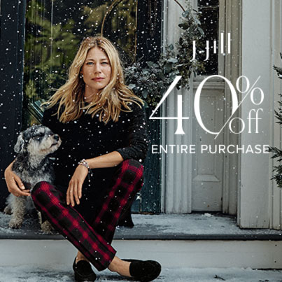 J.Jill – 40% OFF Entire Purchase* – Starts 11/23/2020 – Ends 11/30/2020!